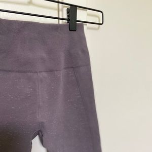 Lulu Compression Crop Leggings (Dusty Lavender)
